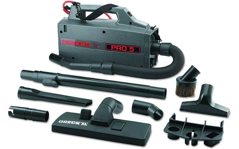 Oreck Commercial BB900DGR XL Pro 5 Super Compact Canister Vacuum